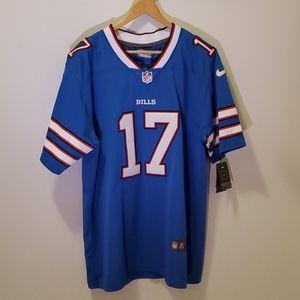 NFL Buffalo Bills 17 Allen Jersey Football